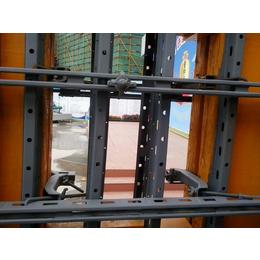 云南昆明剪力墻鋼背楞建筑模板支撐使用方法及效果