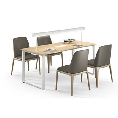 4位多层板+钢制阅览桌