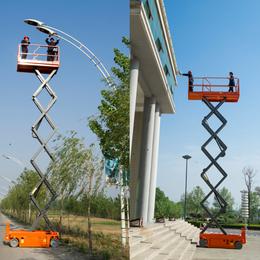 三明市全自动行走升降平台现货供应 10米全自行升降机厂家制造