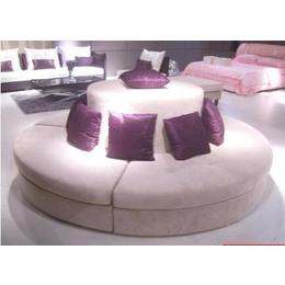 卡座圆形沙发