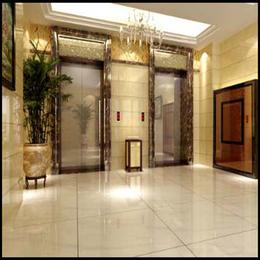 西安仿大理石电梯门套安装效果图