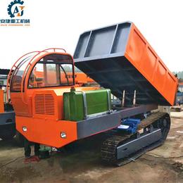 厂家直销水利工程钢制履带运输车 钢制链轨式自卸车厂家