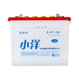 小洋平安国际娱乐6-EV-150型砖厂车新能源蓄电池