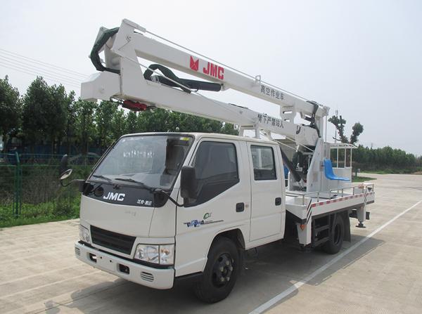凯运双长14米高空作业车