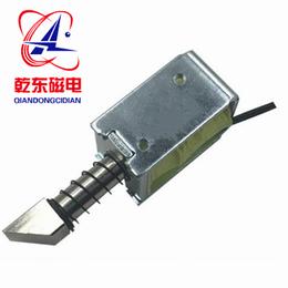 门禁锁电磁铁框架推拉直流电磁锁QDU0837L-乾东磁电产销