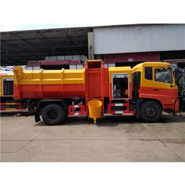 煤礦廠耐腐蝕性的10噸污泥運輸車