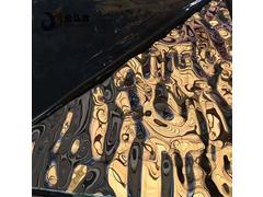温岭304l不锈钢板镜面本色波纹板