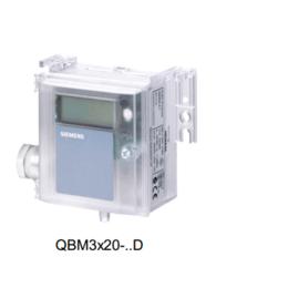 QBM3120-5D西门子带数显风管压差变送器