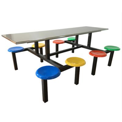 8位多层板移动椅餐桌