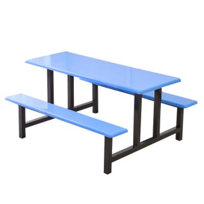 4位玻璃钢固定椅餐桌8