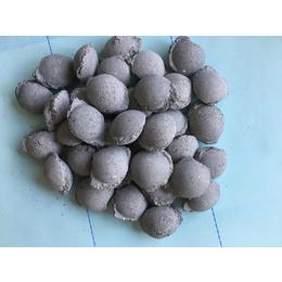 供应金泰炼钢辅料5-40mm规格AD粉球