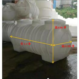 污水改造  塑料桶化粪池
