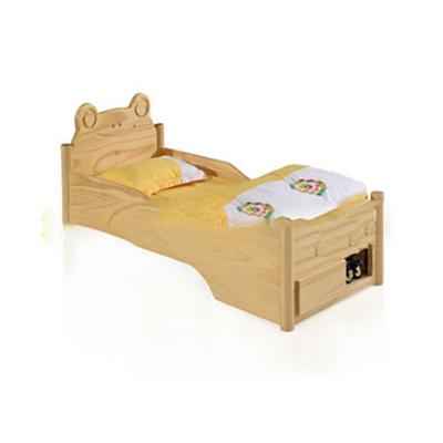 单人实木单层床