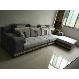 客厅灰色布艺沙发缩略图