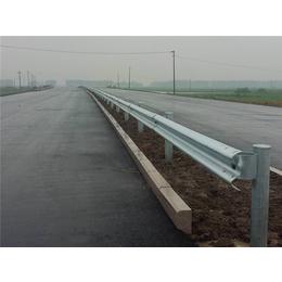 温岭波形梁钢护栏-君宏护栏配件-中央分隔带两波形梁钢护栏
