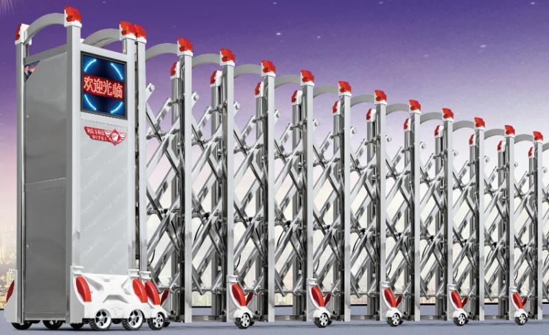 铝合金电动门伸缩门-运兴系列采购