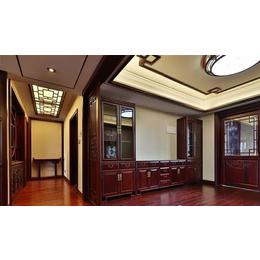 長沙美式原木定制原木櫥櫃-博古架家具訂做規模很大