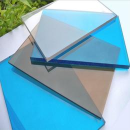 迪迈pc耐力板颗粒板高透明蓝色茶色等1.5-15mm厂家直销