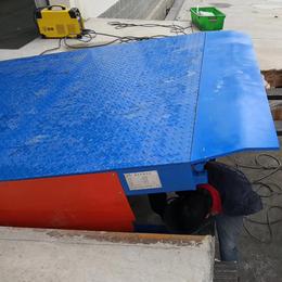 6吨登车桥 南宁货台装卸过桥设计 电动调节版厂家