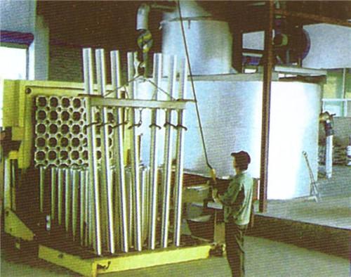 生產設備、熔鑄車間
