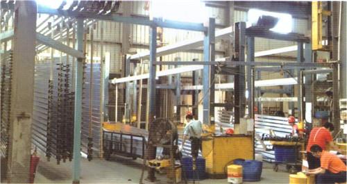 生產設備、氧化車間