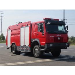 重汽6吨JDF5170GXFSG60型水罐消防车厂家直销价格