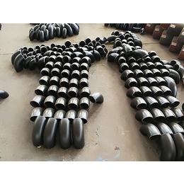 四川遂宁DN40煤矿通风用90度薄壁碳钢弯头