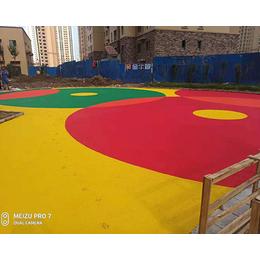 甘肃幼儿园epdm地面-绿健塑胶-幼儿园epdm地面工程