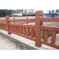 仿木栏杆,仿木花架,仿木花箱等水泥制品具有三大优势!