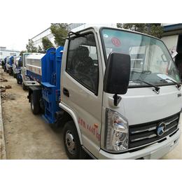 8吨含水污污泥运输车-8方8立方挂桶式清运污泥车价格