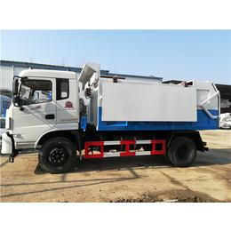國六22立方密封污泥運輸車-24立方生活垃圾運轉車價格說明