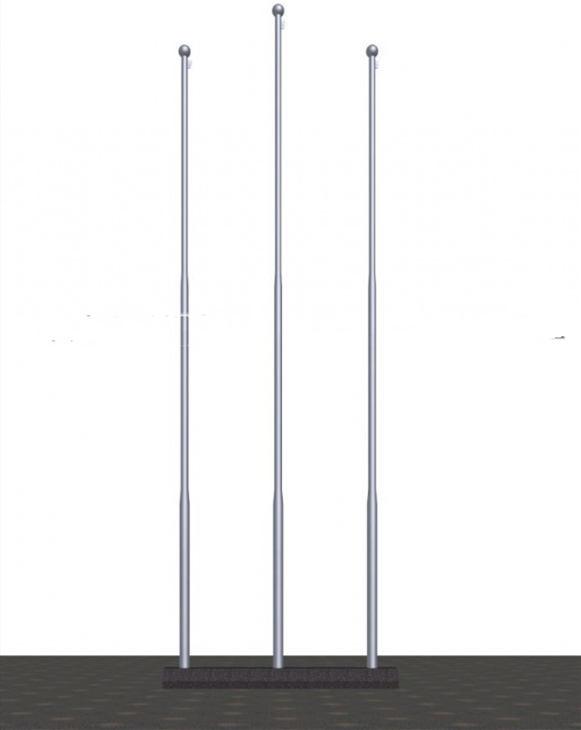 不锈钢锥形旗杆