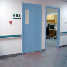 厂家定做专用病房门对夹门医用钢质门