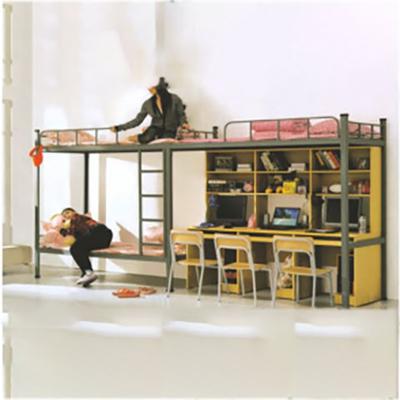 大学生双联三人位内梯组合床