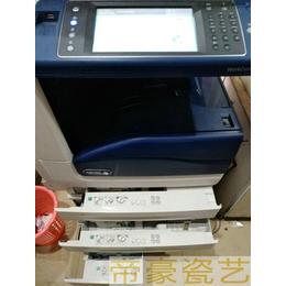 墓碑瓷像烤瓷设备   烤磁照片打印机