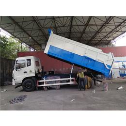 一辆能拉15吨含水污泥运输车多少钱_价格_配置