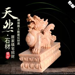 汉白玉招财貔貅雕刻厂家