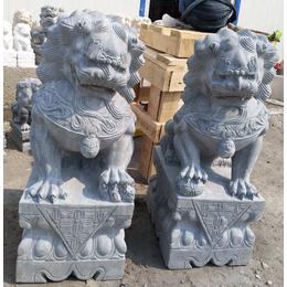 墓地汉白玉小石狮子批发厂家