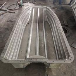 河南洛阳滚塑模具设备厂家5米渔船储罐园缸异形模具定制江苏远怀