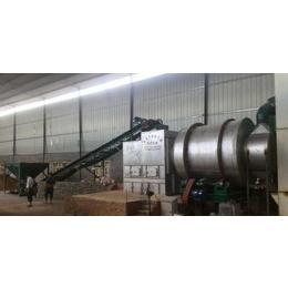 宁夏滚筒烘干机-金茂机械生产现场(图)-沙子滚筒烘干机