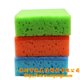 阿洗擦海绵 厂家 沐浴海绵批发 海绵刷 木浆棉 用途 清洁