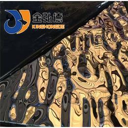南平热轧不锈钢板不锈钢水波纹装饰板材定制
