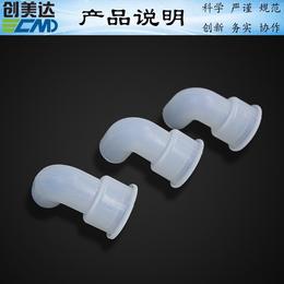 沧州市过滤机器硅胶连接短管天然无毒无害 珠海硅胶配件定做厂家