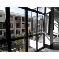 铝合金框与墙体的配合处渗漏水
