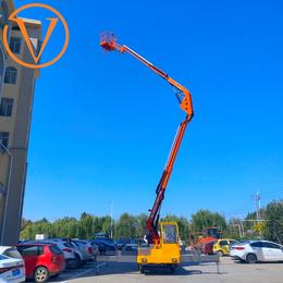 20米折臂升降平台 星汉机械 20米曲臂升降机 高空作业车