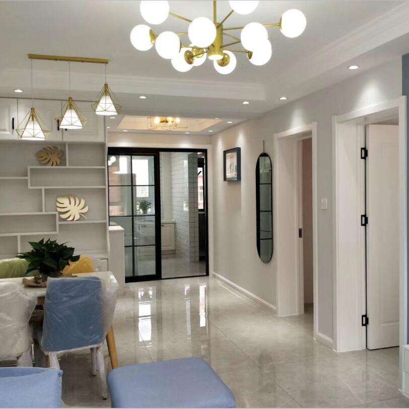 装修新房,花了3个月的时间,做了简约风格的设计,很漂亮