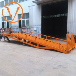 移动登车桥 8吨登车桥 液压登高车 星汉调节板