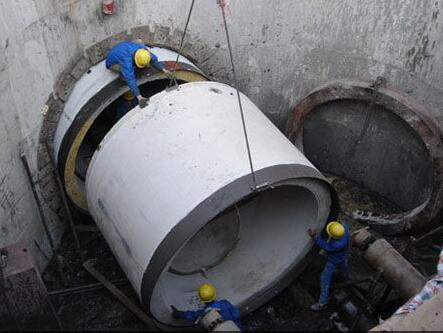 水泥管工程案例1