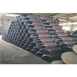 90度冲压弯头 碳钢无缝弯头国标1.5D长半径高压焊接弯头