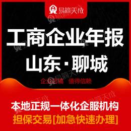 聊城注册东昌府区开发区公司营业执照年报工商年检选易简天成